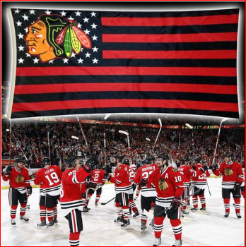 Blackhawks Flag